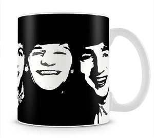 The Beatles Close Up Mug - Canvas Art Rocks - 1