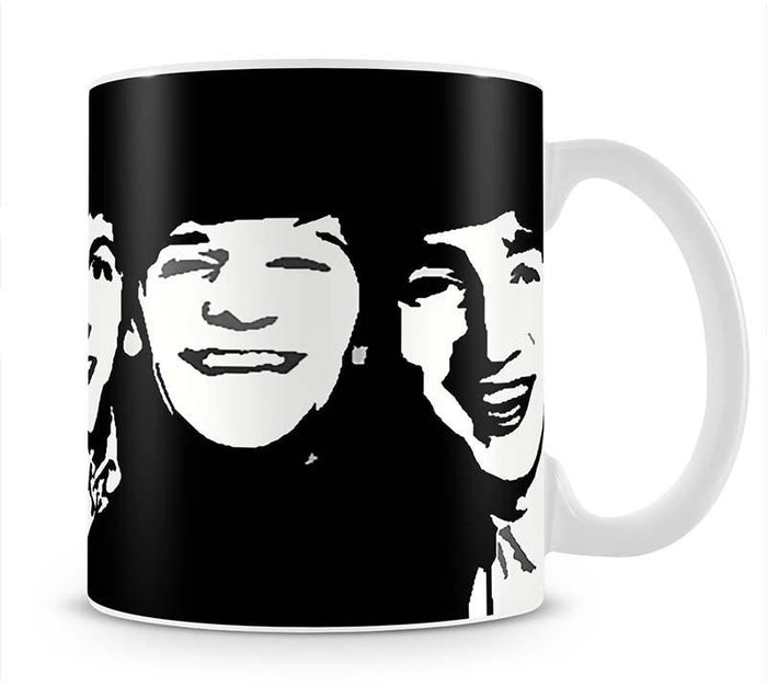 The Beatles Close Up Mug
