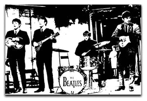 The Beatles Live Canvas Print or Poster  - Canvas Art Rocks - 1