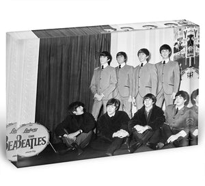 The Beatles at Madame Tussauds Acrylic Block - Canvas Art Rocks - 1