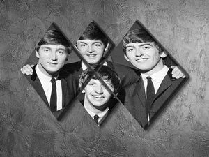 The Beatles in 1963 4 Square Multi Panel Canvas - Canvas Art Rocks - 2