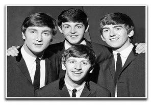 The Beatles in 1963 Canvas Print or Poster  - Canvas Art Rocks - 1