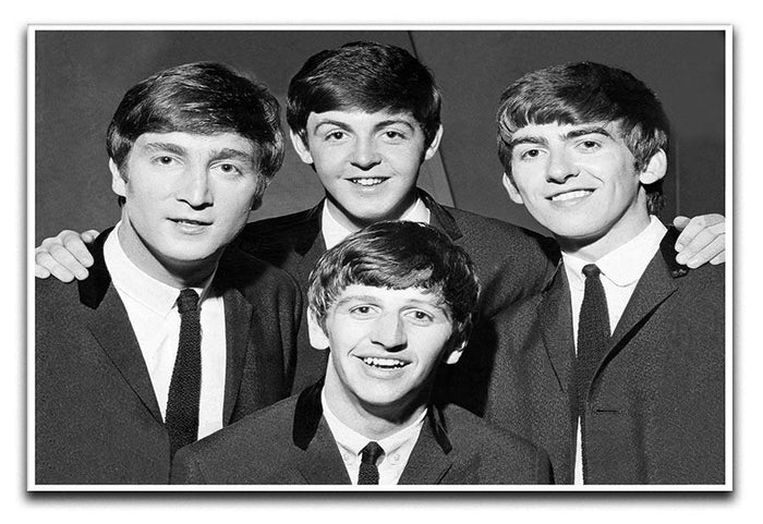 The Beatles in 1963 Canvas Print or Poster