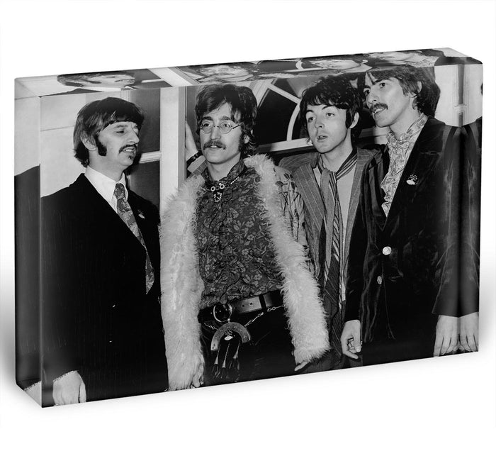 The Beatles in 1967 Acrylic Block