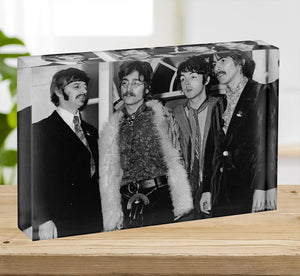 The Beatles in 1967 Acrylic Block - Canvas Art Rocks - 2