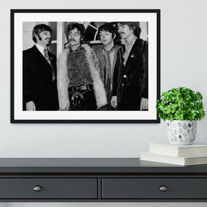 The Beatles in 1967 Framed Print - Canvas Art Rocks - 1