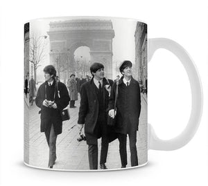 The Beatles in Paris Mug - Canvas Art Rocks - 1
