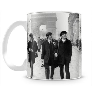 The Beatles in Paris Mug - Canvas Art Rocks - 2