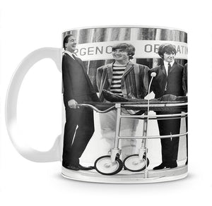 The Beatles with Mike and Bernie Winters Mug - Canvas Art Rocks - 2