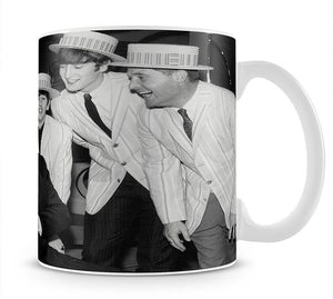 The Beatles with Morecambe and Wise Mug - Canvas Art Rocks - 1