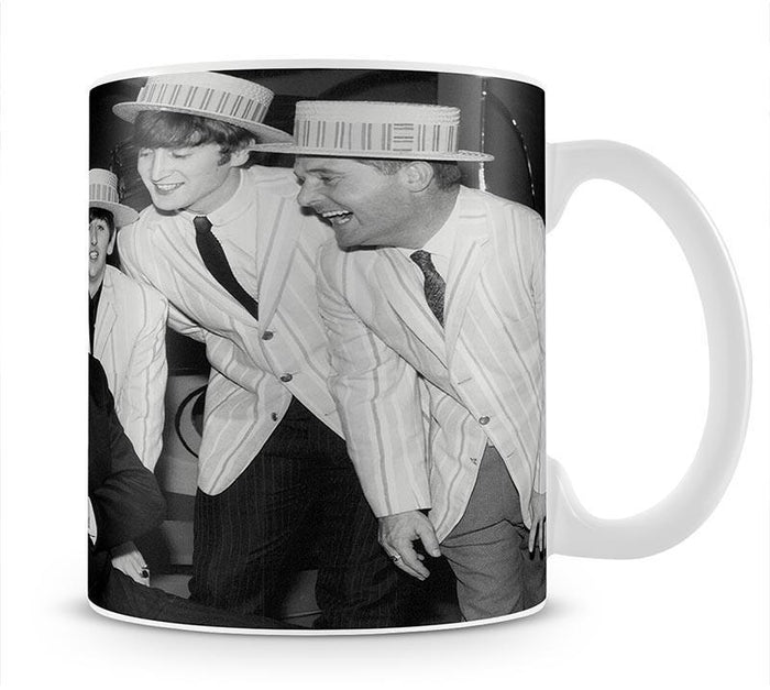 The Beatles with Morecambe and Wise Mug
