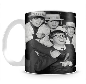The Beatles with Morecambe and Wise Mug - Canvas Art Rocks - 2