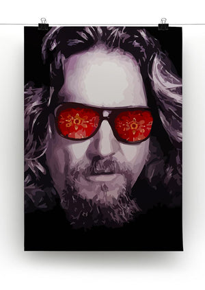 The Big Lebowski Print - Canvas Art Rocks - 2