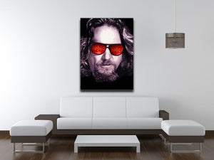 The Big Lebowski Print - Canvas Art Rocks - 4