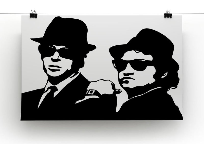 The Blues Brothers Canvas Print or Poster - Canvas Art Rocks