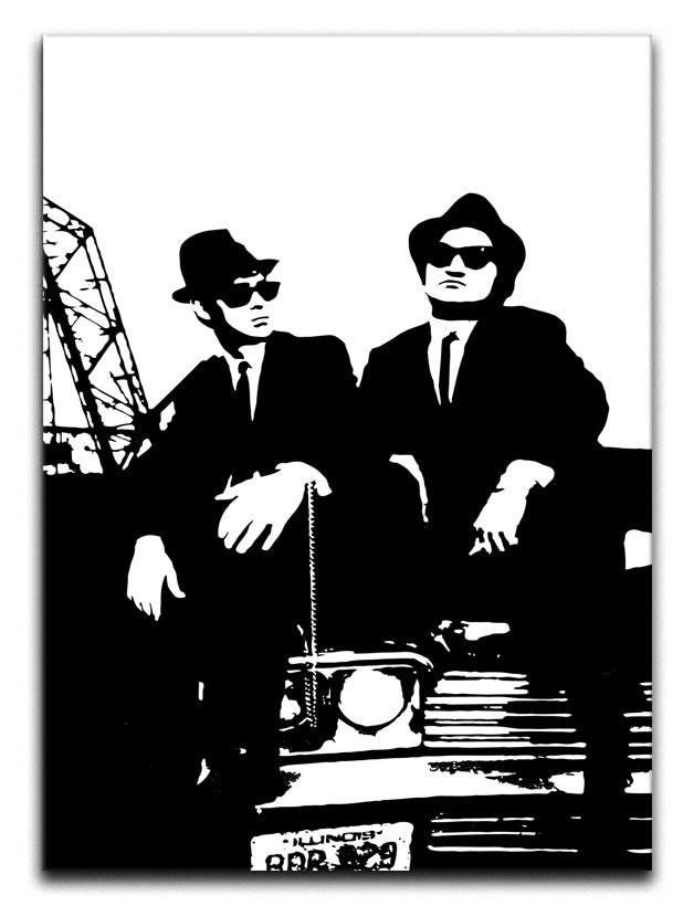 The Blues Brothers Car Canvas Print or Poster - Canvas Art Rocks