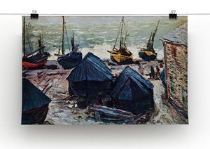The Boats by Monet Canvas Print & Poster - Canvas Art Rocks - 2