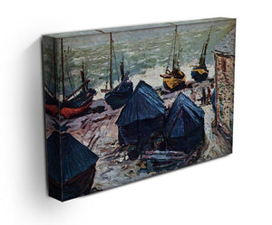 The Boats by Monet Canvas Print & Poster - Canvas Art Rocks - 3