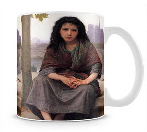 The Bohemian By Bouguereau Mug - Canvas Art Rocks - 1