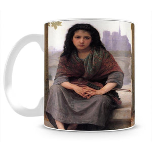 The Bohemian By Bouguereau Mug - Canvas Art Rocks - 2
