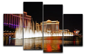 The Caesars Palace Hotel 4 Split Panel Canvas  - Canvas Art Rocks - 1