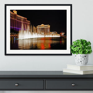 The Caesars Palace Hotel Framed Print - Canvas Art Rocks - 1