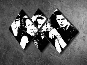 The Clash 4 Square Multi Panel Canvas - Canvas Art Rocks - 2