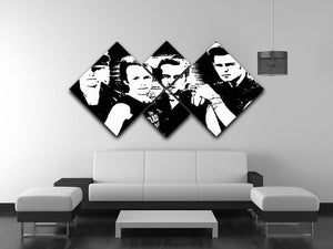 The Clash 4 Square Multi Panel Canvas - Canvas Art Rocks - 3