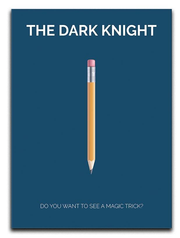 The Dark Knight Minimal Movie Canvas Print or Poster