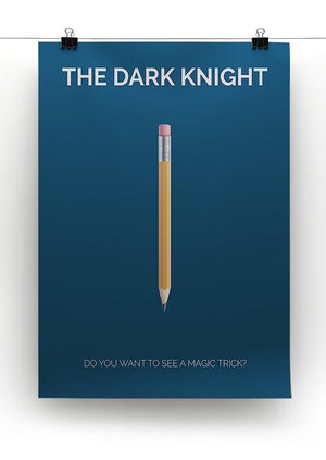 The Dark Knight Minimal Movie Canvas Print or Poster - Canvas Art Rocks - 2