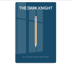The Dark Knight Minimal Movie HD Metal Print
