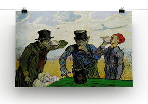The Drinkers by Van Gogh Canvas Print & Poster - Canvas Art Rocks - 2