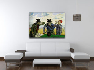 The Drinkers by Van Gogh Canvas Print & Poster - Canvas Art Rocks - 4