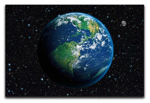 The Earth from space Canvas Print or Poster  - Canvas Art Rocks - 1