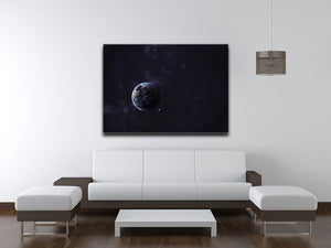 The Earth from space showing all they beauty Canvas Print or Poster - Canvas Art Rocks - 4