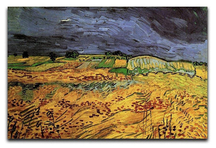 The Fields by Van Gogh Canvas Print or Poster