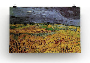 The Fields by Van Gogh Canvas Print & Poster - Canvas Art Rocks - 2