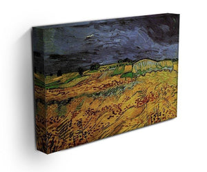 The Fields by Van Gogh Canvas Print & Poster - Canvas Art Rocks - 3