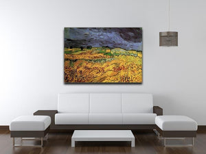 The Fields by Van Gogh Canvas Print & Poster - Canvas Art Rocks - 4