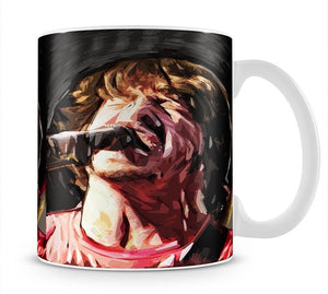 The Foo Fighters Dave Grohl Mug - Canvas Art Rocks - 1