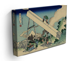 The Fuji from the mountains of Totomi by Hokusai Canvas Print or Poster - Canvas Art Rocks - 3