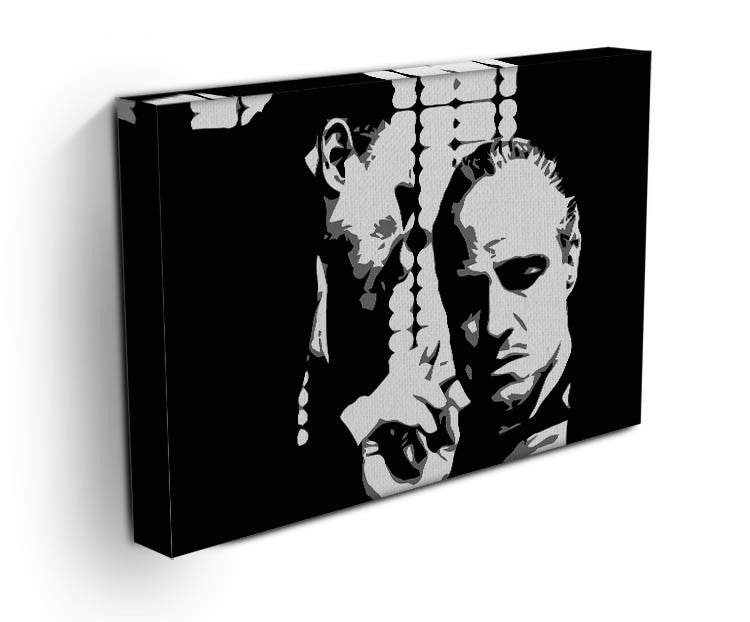 The Godfather  - A Word With The Don Canvas Print & Poster - US Canvas Art Rocks