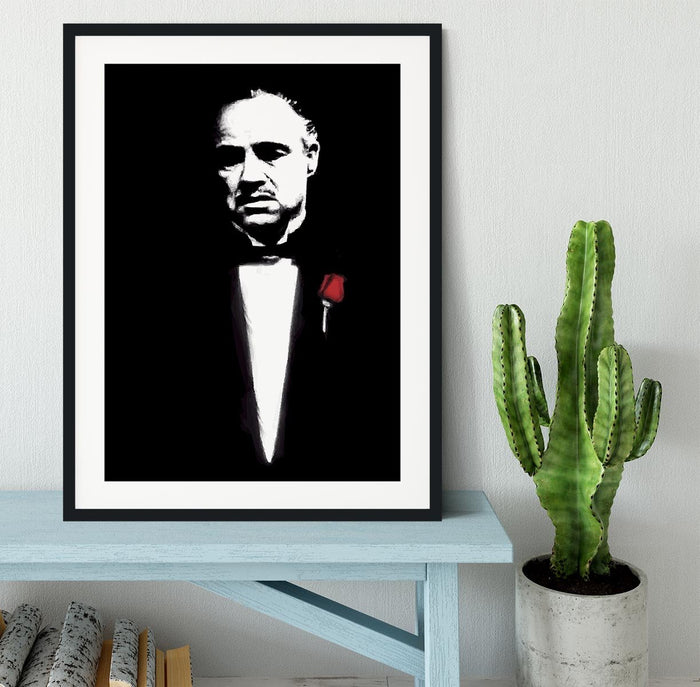 The Godfather Don Corleone Framed Print