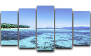 The Great Barrier Reef 5 Split Panel Canvas  - Canvas Art Rocks - 1