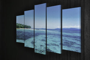 The Great Barrier Reef 5 Split Panel Canvas  - Canvas Art Rocks - 2