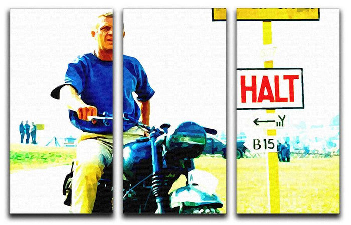 The Great Escape 3 Split Panel Canvas Print