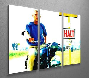The Great Escape 3 Split Panel Canvas Print - Canvas Art Rocks