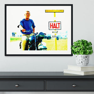 The Great Escape Framed Print - Canvas Art Rocks - 1