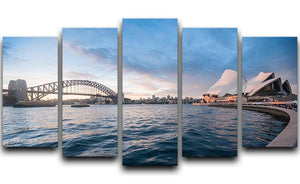 The Harbour Bridge 5 Split Panel Canvas  - Canvas Art Rocks - 1