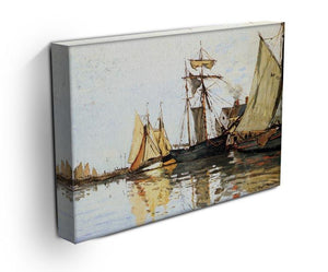 The Honfleur Port by Monet Canvas Print & Poster - Canvas Art Rocks - 3